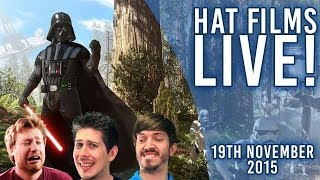 Star Wars: Battlefront on PC - AT-STD! [Live Archive 19th Nov 2015]