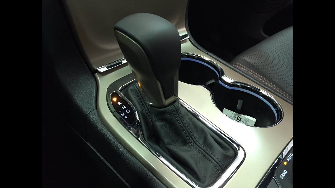 Revised Gear Lever Overview On The 2016 Jeep Grand Cherokee