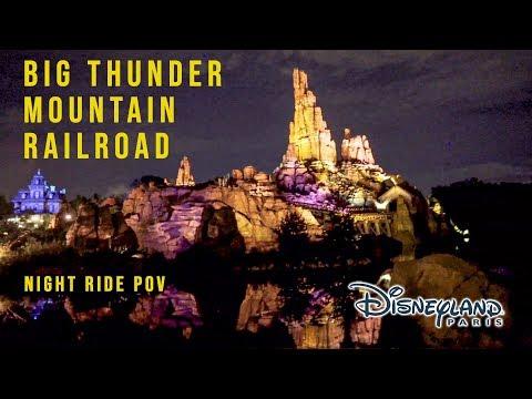 2019 Disneyland Paris Big Thunder Mountain Railroad On Ride Low Light HD POV With Queue