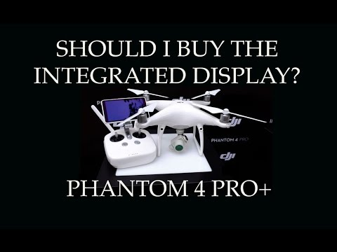 Should I buy the Integrated Display Controller - Phantom 4 Pro+