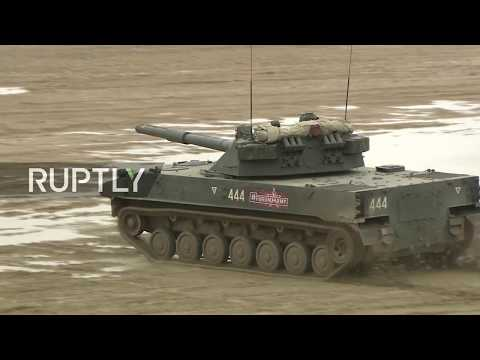 LIVE: 'Army 2017' show displays military tactics and tech on land, sea and air