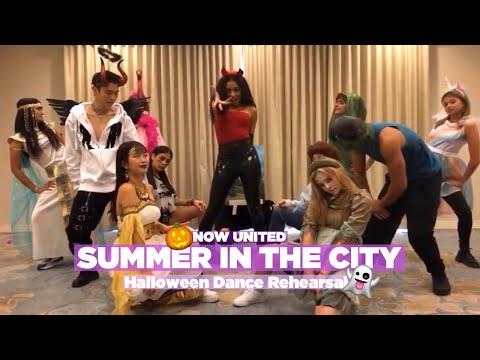 Now United - Summer In The City (Halloween Dance Practice)