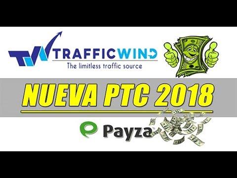 TRAFFIC WIND como Funciona....Tutorial Completo ( NUEVA PTC 2018)