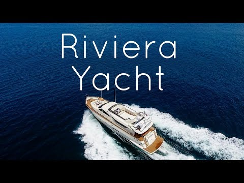 Wonderful yacht RIVIERA cruising the Amalfi Coast