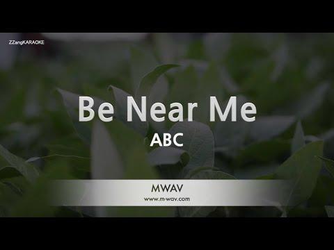 abc-be-near-me-(melody)-[zzang-karaoke]