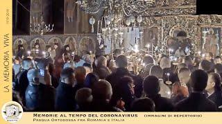 La Pasqua Ortodossa al tempo del coronavirus