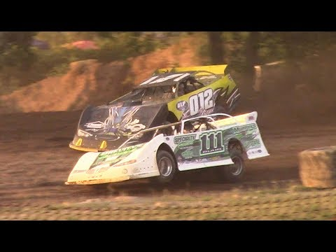 ULMS Super Late Model Heat Two | Genesee Speedway | 7-6-17
