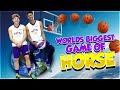 Worlds BIGGEST GAME of HORSE - INSANE Trickshots!