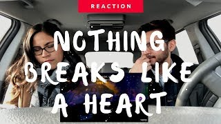 Mark Ronson Ft. Miley Cyrus | Nothing Breaks Like A Heart (Reaction) | The Millennial Chisme Video