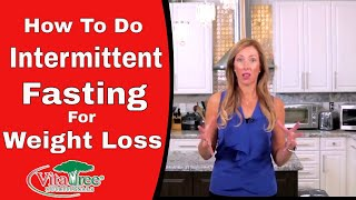 How to do Intermittent Fasting for Weight Loss - The 8 Hour Rule & Ketosis VitaLife Show Episode 296