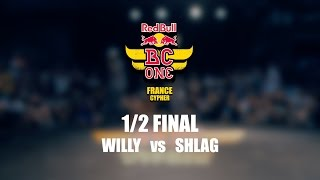 Półfinał Red Bull BC One France Cypher 2016: Willy vs Shlag