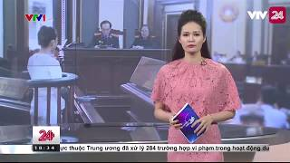 Vụ án hoa hậu Phương Nga bị kiện lừa đảo: Bà Phương xuất hiện | VTV24