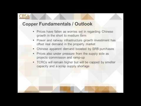CBSA e Training Webinar: 2015 Global Copper Market Outlook