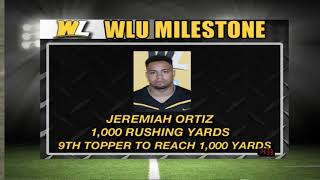 Jeremiah Ortiz official collegiate highlights