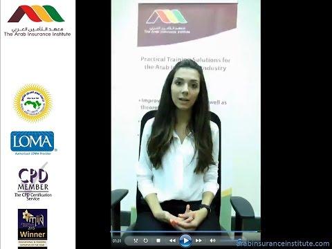 Reinsurance Intermediate Course, Amman, 4th-5th October 2015