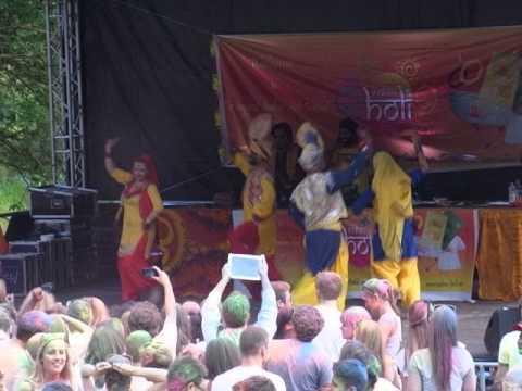 Indian Holi Festival,open air, Westpark München am 25.5.2014
