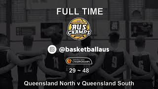 AusChamps U18 - Games 84 - Kevin Coombs Cup - Queensland North v Queensland South