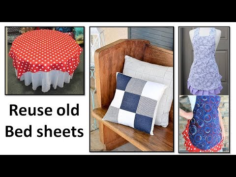 17 awesome and creative ways to reuse or recycle old bedsheets