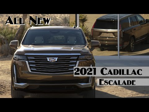 2021 Cadillac Escalade Interior Exterior Runing Lucxury And Sport Edition All New
