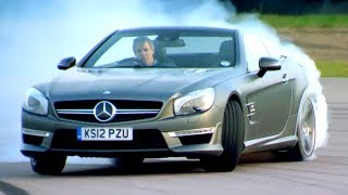 Mercedes VS Audi VS Maserati Drag Race Fifth Gear смотреть