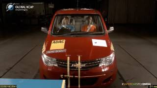 Presentation of latest crash tests on Ford Aspire (Next Gen Figo) and Chevrolet Enjoy