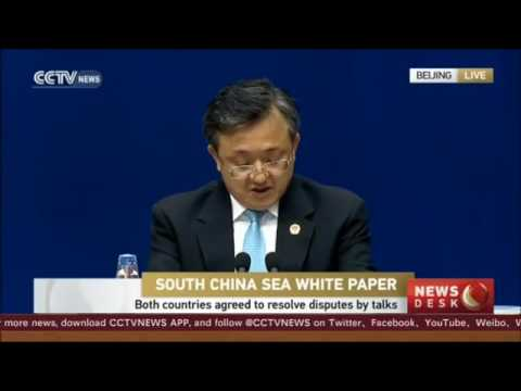South China Sea  China releases white paper on South China Sea issue