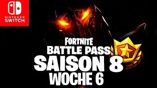 🔴 CUSTOM GAMES, RUIN, Battle Pass Woche 6 Banner | Fortnite Switch Deutsch