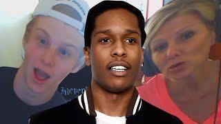 Mom reacts to A$AP Rocky @asvpxrocky