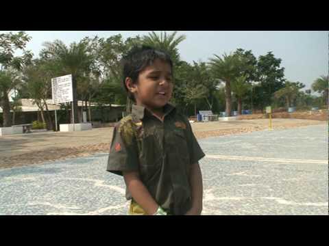 aakash singing - shanthi om shanthi