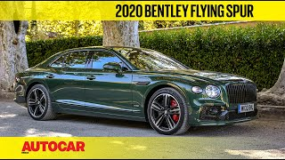 2020 Bentley Flying Spur Review | First Drive | Autocar India
