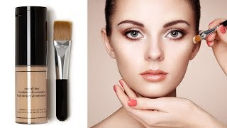 How to Apply Foundation and Concealer for Beginners | Perfect Face Makeup Tutorial | Step by Step