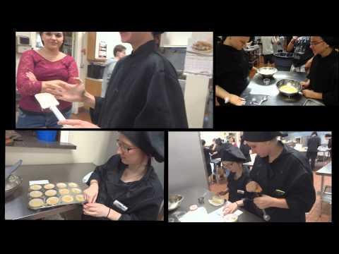 Blue River Career Center Culinary Arts Class 2014