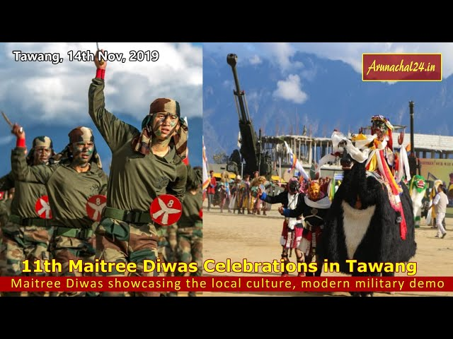 11th Maitree Diwas Celebrations in Tawang