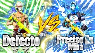 DEFECTO VS PRECISO EN MIRA 🔥BATALLA DE RAP🔥 FREE FIRE