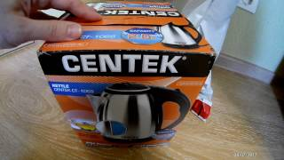 Обзор электро чайника CENTEK CT1068