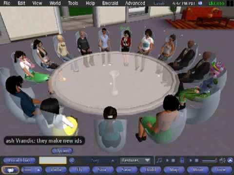 University of Virginia class held in Second Life