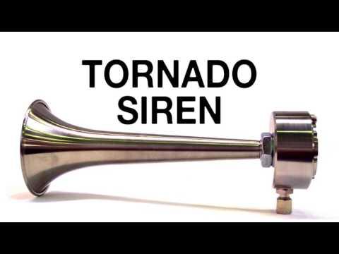 Tornado Warning Siren Sound Effect freesound