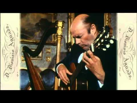 Julian Bream - Rondo in A minor (Dionisio Aguado)