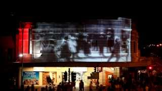 Beaufort St Projection Mapping 2013
