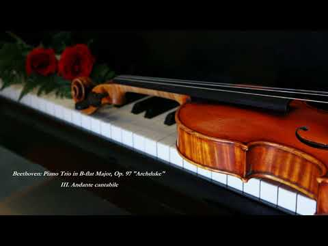 "Beethoven: Piano Trio in B-flat Major, Op. 97 ""Archduke"" - (III. Andante cantabile)"
