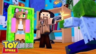 THE WALKING DEAD TAKEOVER | Minecraft Toystore | Little Kelly