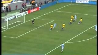 Argentina 4 Brasil 3 Amistoso Internacional 2012 Los goles (Relato Walter Nelson) )