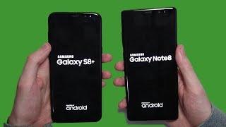 Samsung Galaxy Note 8 vs Galaxy S8 Plus Speed Test! Worth the Extra Money?