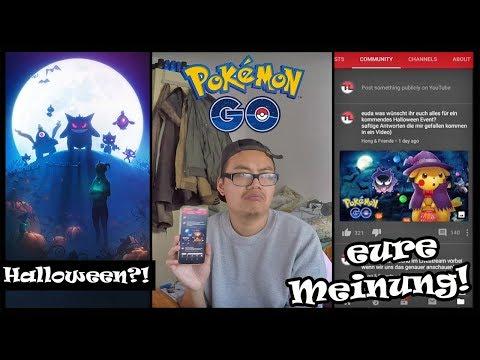 Was WÜNSCHT ihr euch für das HALLOWEEN Event?! Pokemon Go!