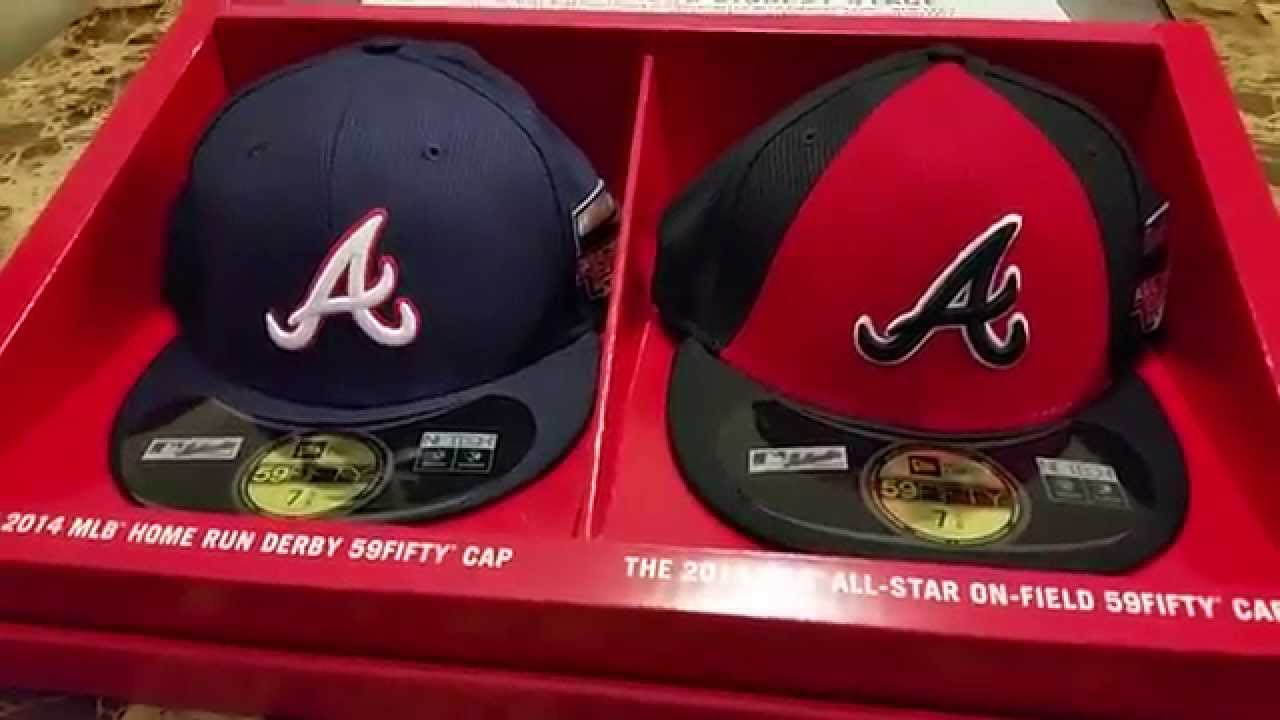 f210512d8f37ac New Era 2014 Limited Edition Atlanta Braves All Star Game Hat Collection