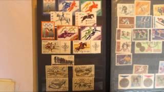 почтовые марки---postage on hand, stamps