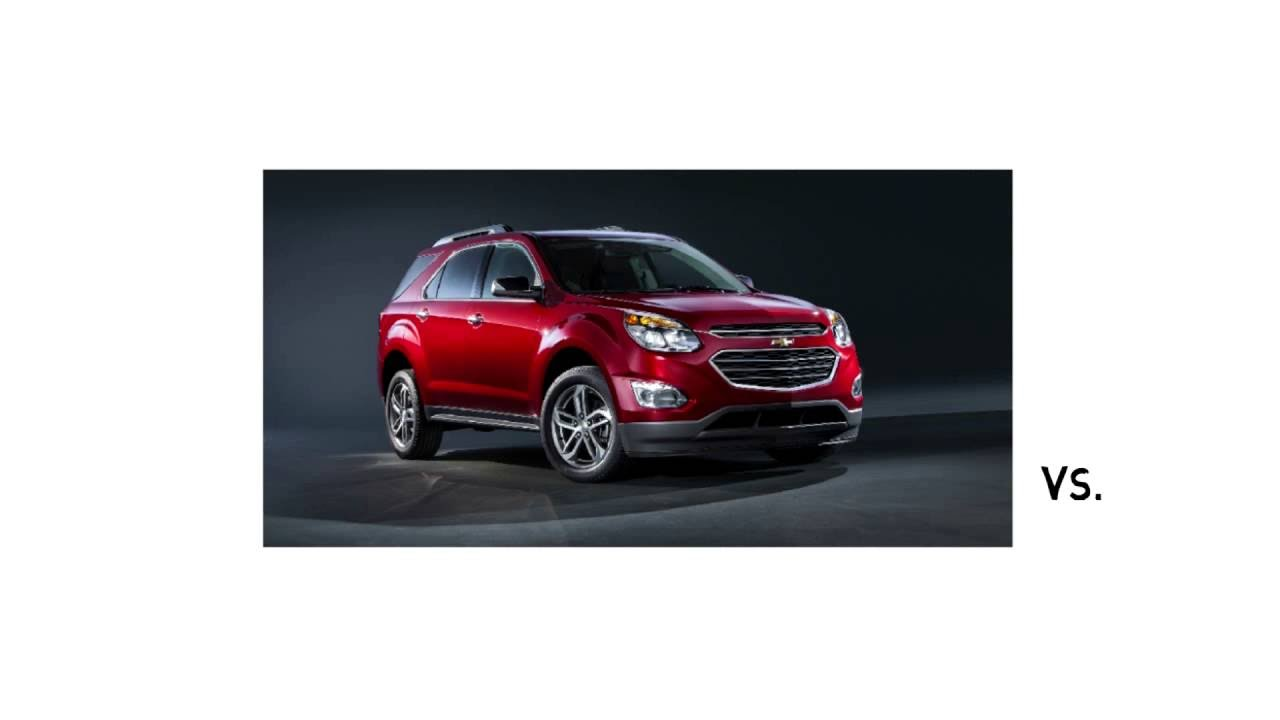Chevy Equinox Vs Ford Edge