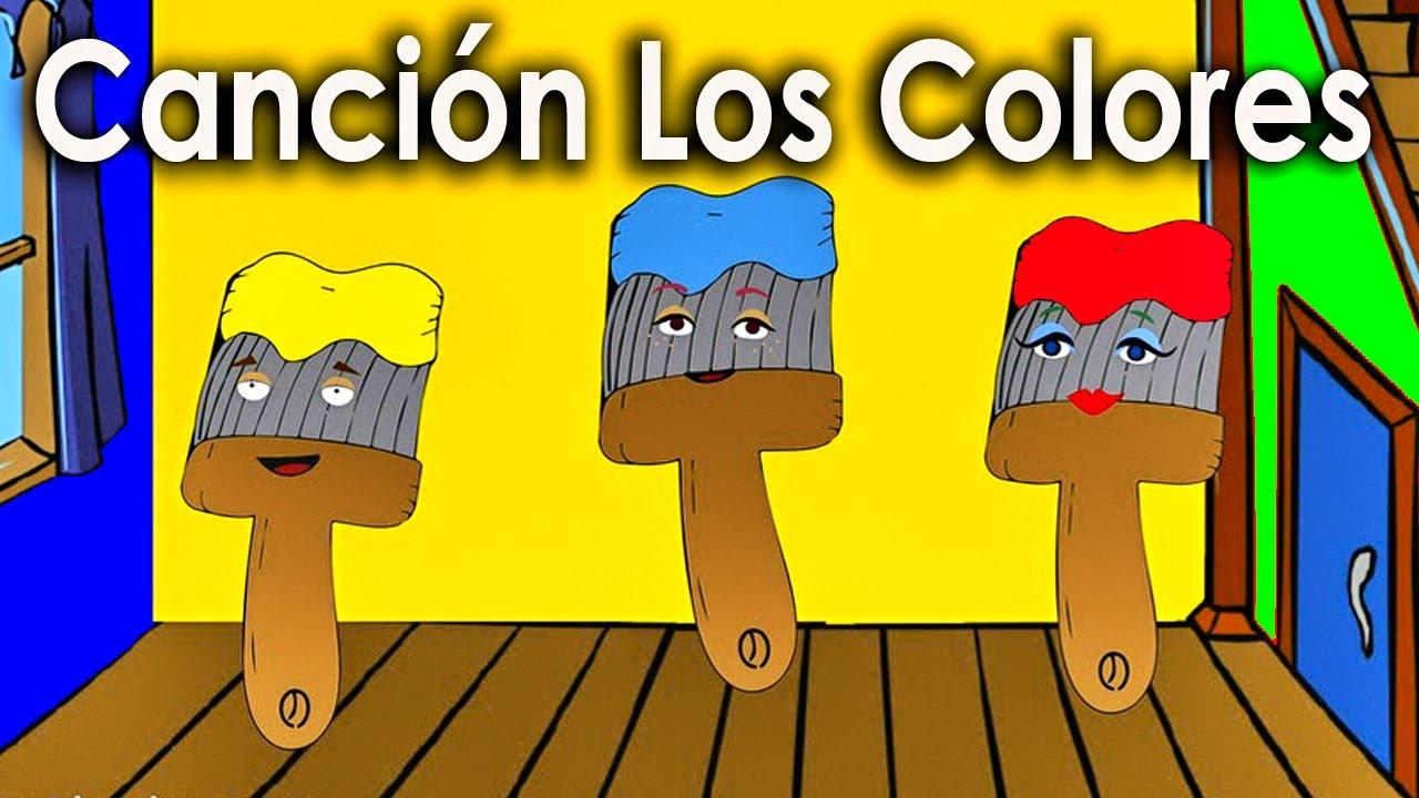 La Cancion de los Colores para niños - Rondas Infantiles - Videos Educativos  - Lunacreciente