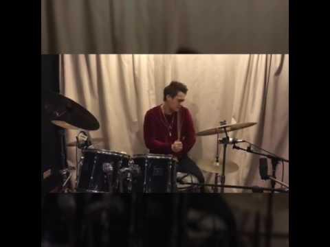 Enrique Gil Super Hot Dude as a Drummer