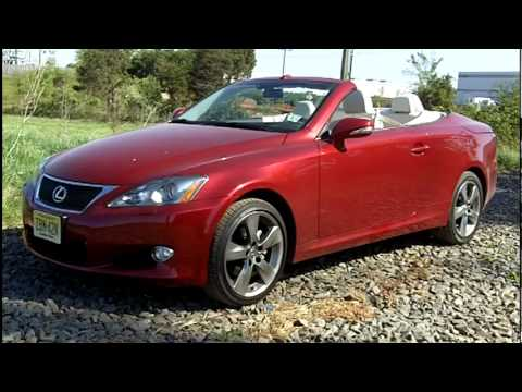 2010 Lexus 250 Isc Convertible Road Test Review By Drivin Ivan Katz